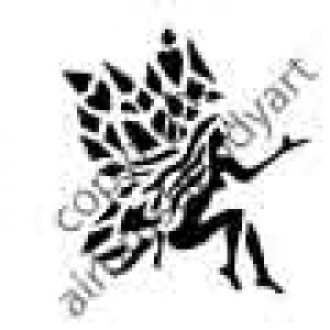 0237 fairy reusable stencil